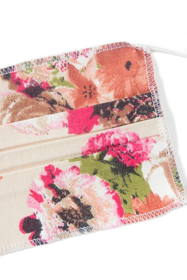 Masca bumbac set 5 bucati floral