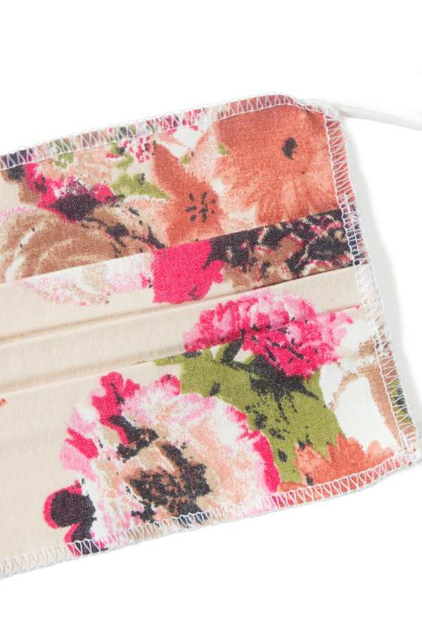 Masca bumbac set 10 bucati floral