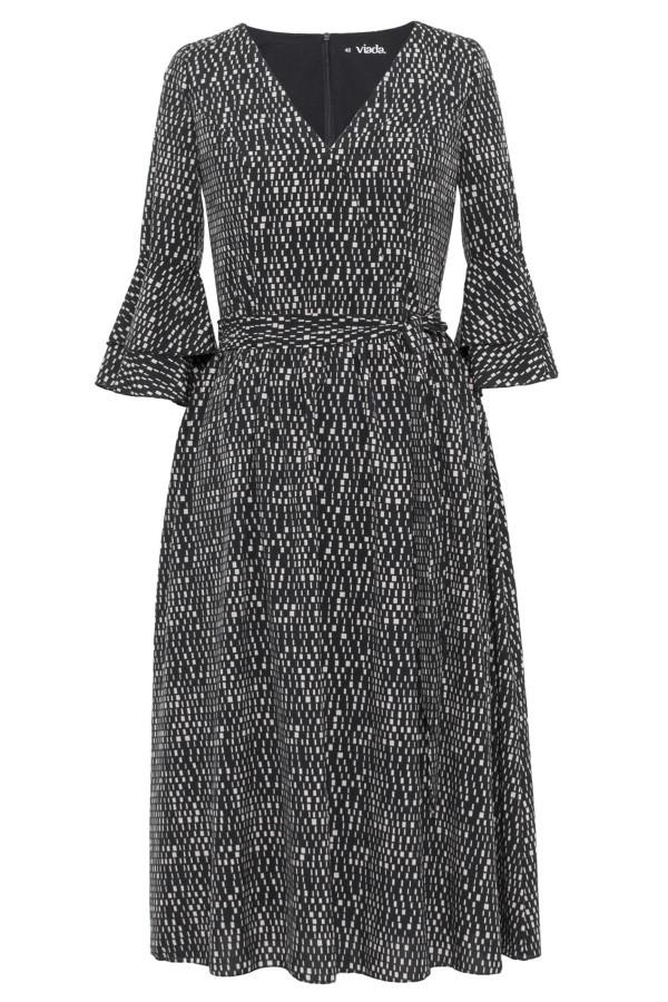 Rochie casual R 304 neagra