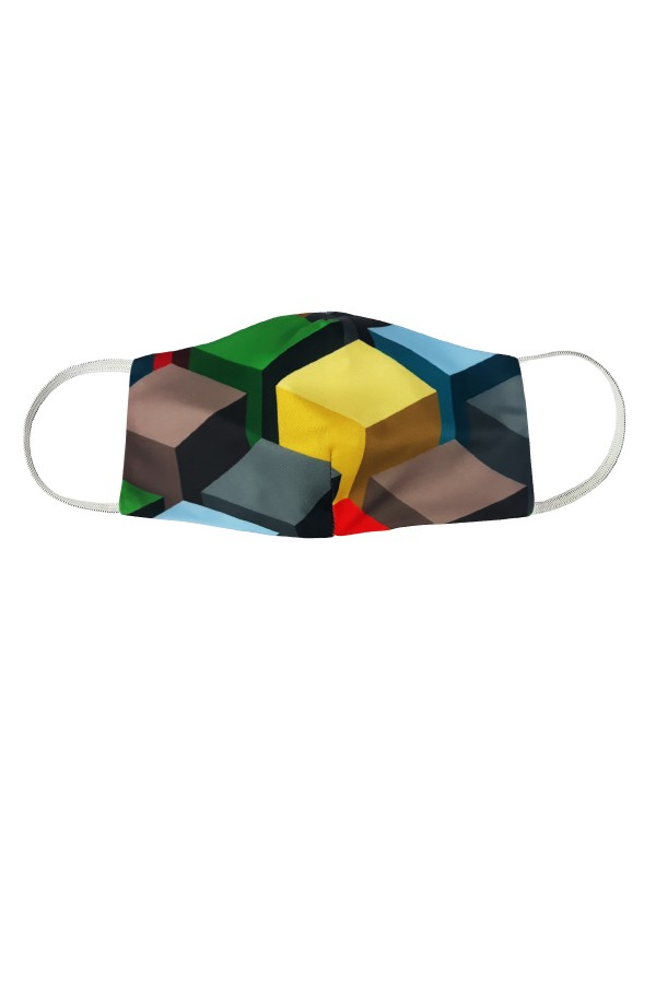 Masca anatomica model cuburi