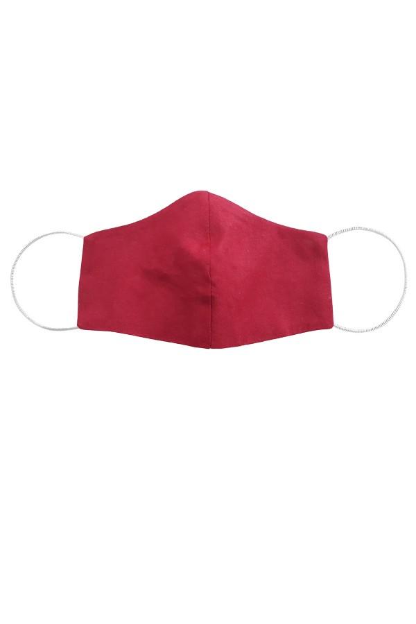 Masca anatomica model uni rosu