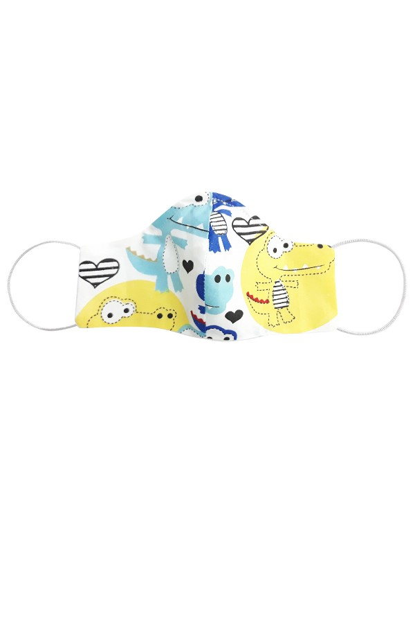 Masca anatomica pentru copii model crocodil