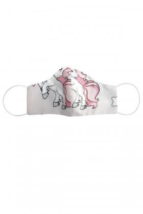 Masca anatomica pentru copii model unicorn