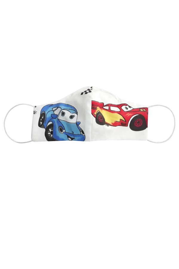 Masca anatomica pentru copii model cars