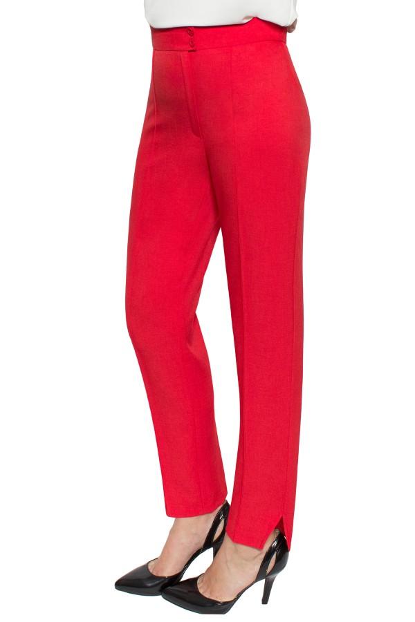 Pantalon casual P 128 rosu