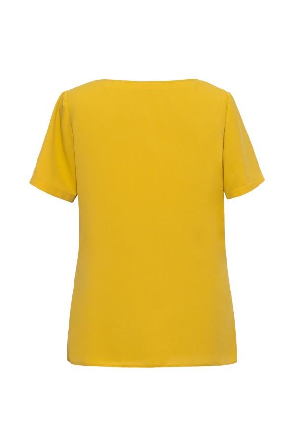 Bluza casual B 136 mustar
