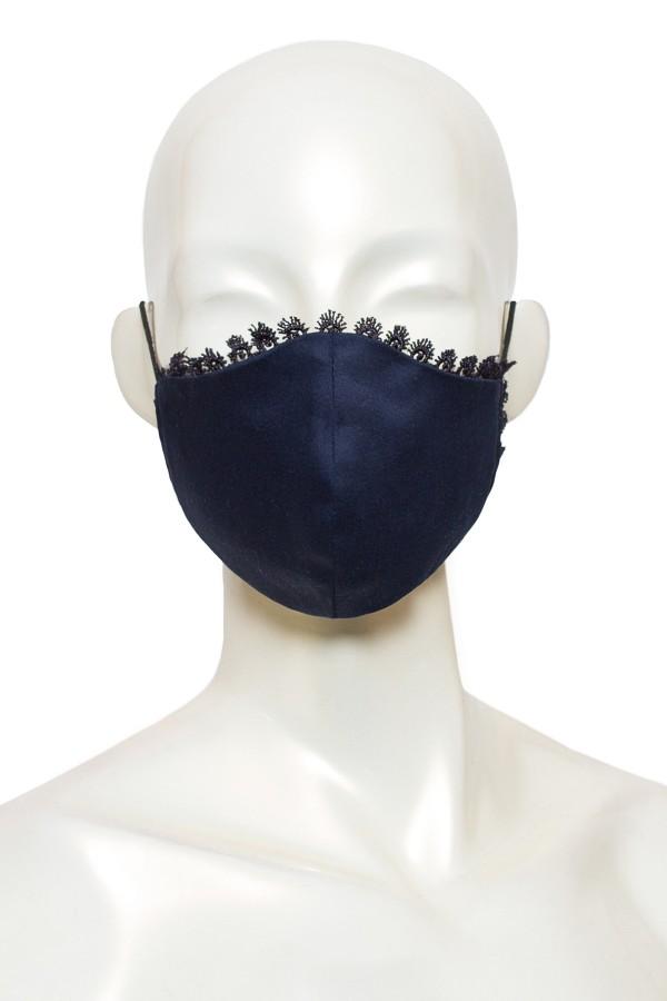 Masca anatomica eleganta bleumarin