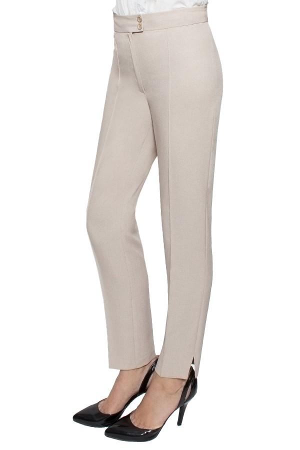 Pantalon casual P 128 bej