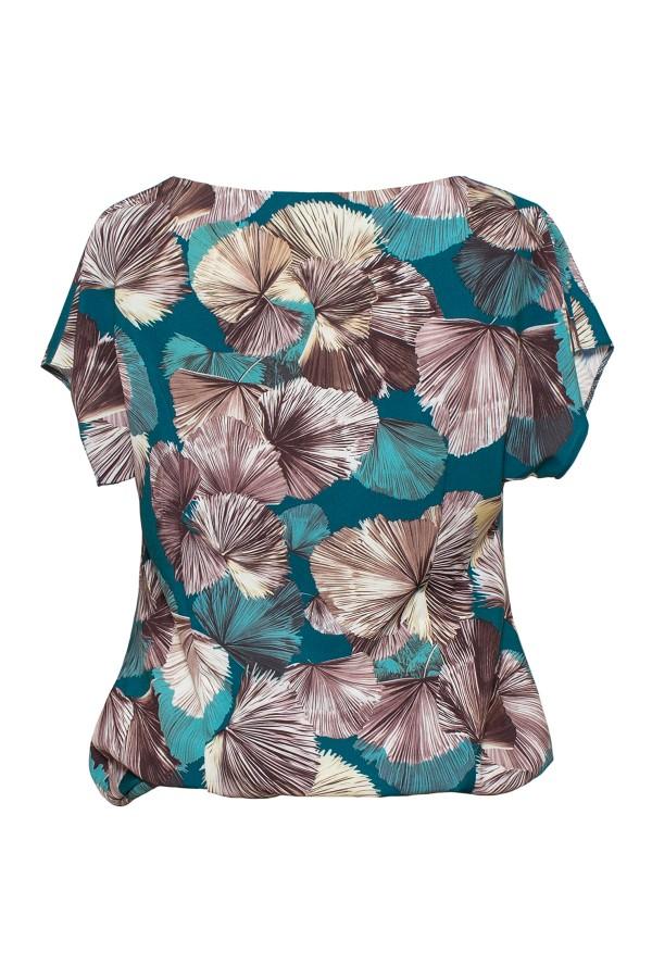 Bluza casual B 139 verde