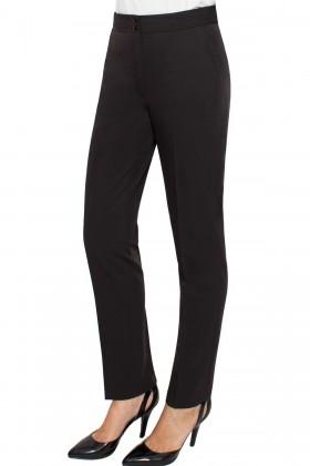 Pantalon casual P 130 negru texturat