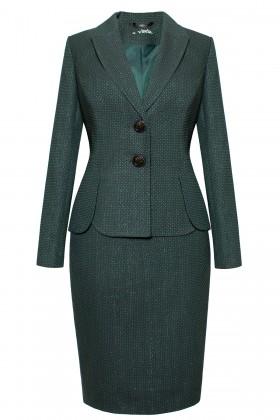 Costum cu fusta 1461 verde