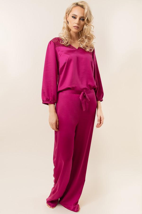Pijama dama 2316 ciclam