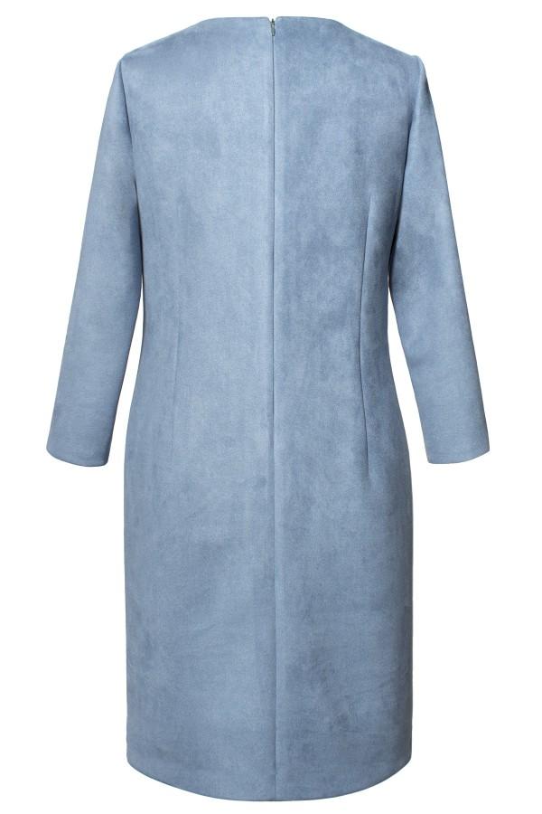 Rochie casual R 379 bleu