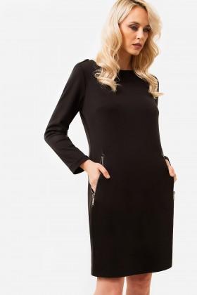 Rochie casual R 390 negru