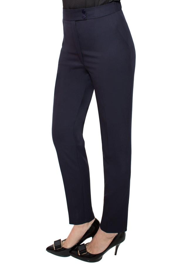 Pantalon casual P 133 bleumarin