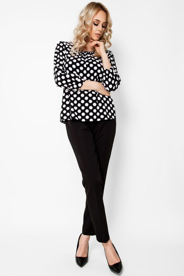 Bluza casual B 167 negru