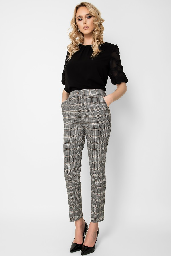 Pantalon casual P 149 gri