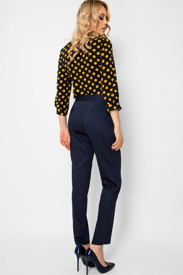 Pantalon casual P 150 bleumarin