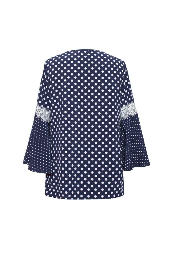 Bluza casual B 169 bleumarin