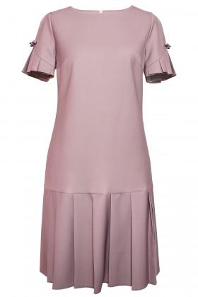 Rochie de zi R 441 dusty pink