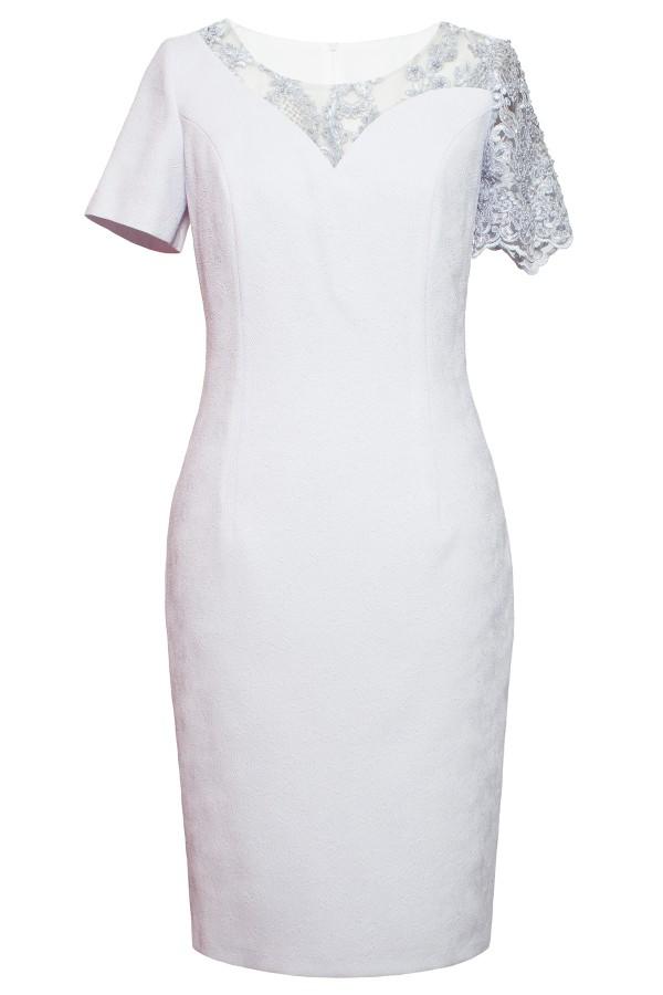 Costum cu rochie 9406 lila