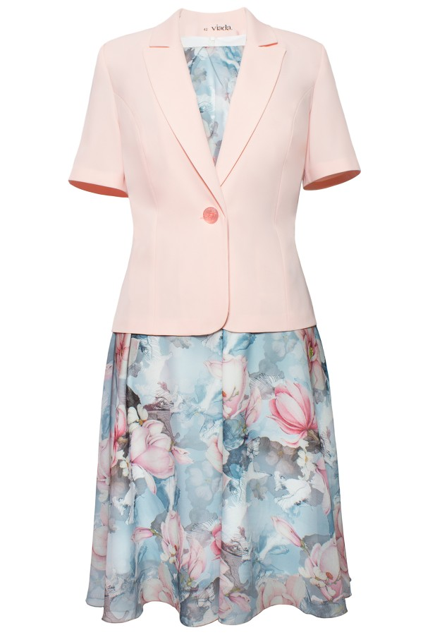 Costum cu rochie 9410 frez