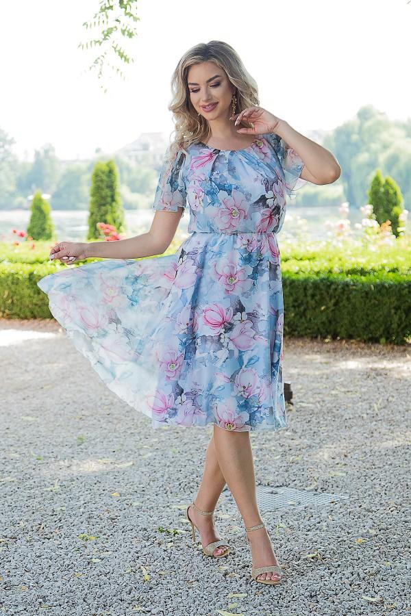Costum cu rochie 9410 roz
