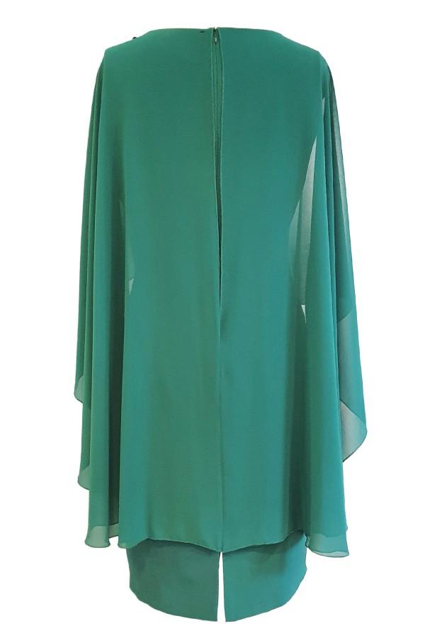 Rochie eleganta R 474 verde