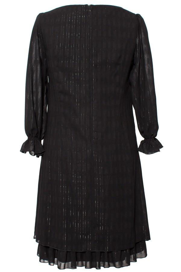 Rochie casual R 485 negru