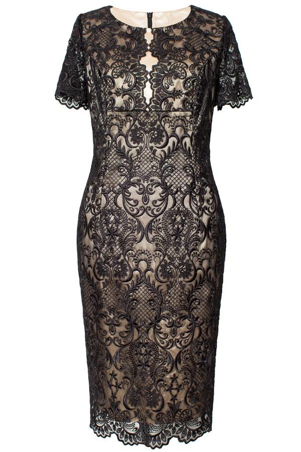 Costum cu rochie 9354 negru