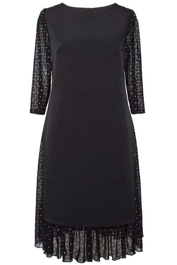 Rochie eleganta R 478 negru
