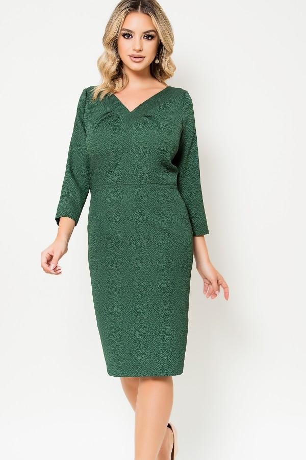 Rochie casual R 505 verde